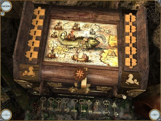 Тайна старинного сундука скриншоты к игре на ZUMA.ru, скачать бесплатно