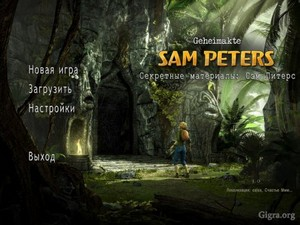 Secret Files. Sam Peters (RUS)