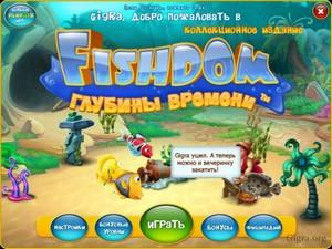 Fishdom: Depths Of Time Collector`S Edition / Фишдом. Глубины Времени. Коллекционное Издание (2015)